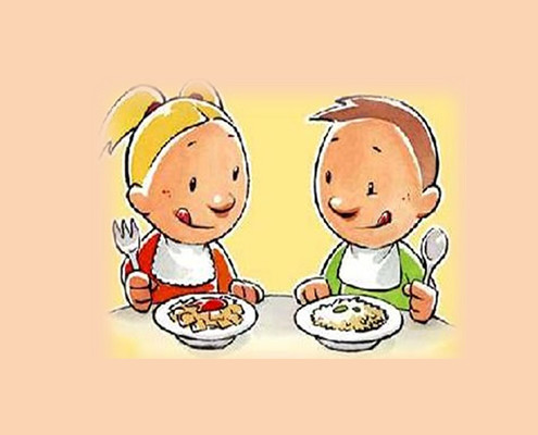 I bambini e il cibo